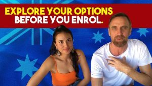 Explore your options before you enrol