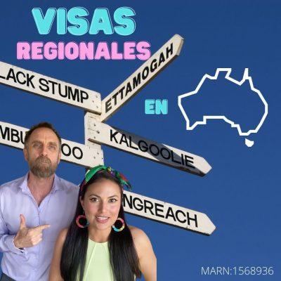 Visas Regionales en Australia